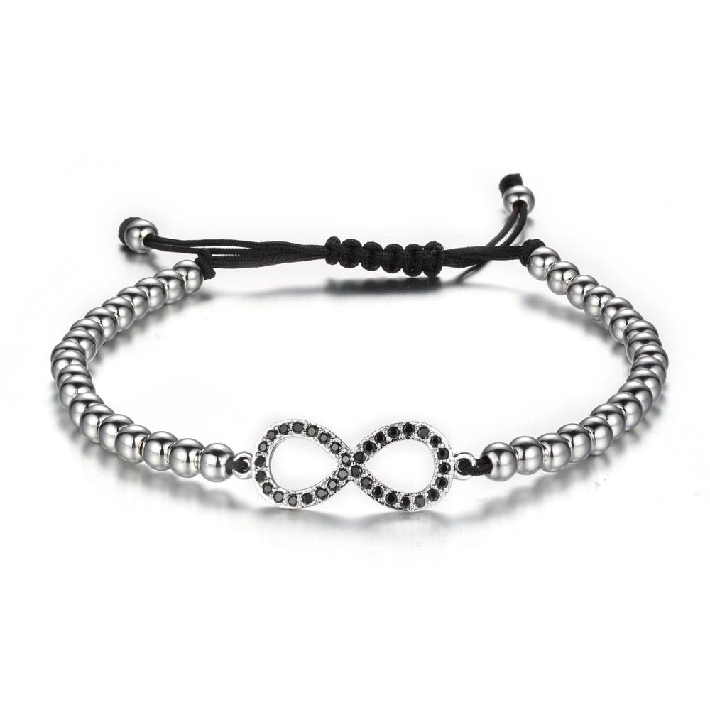 Silver Anchor Men Bracelet