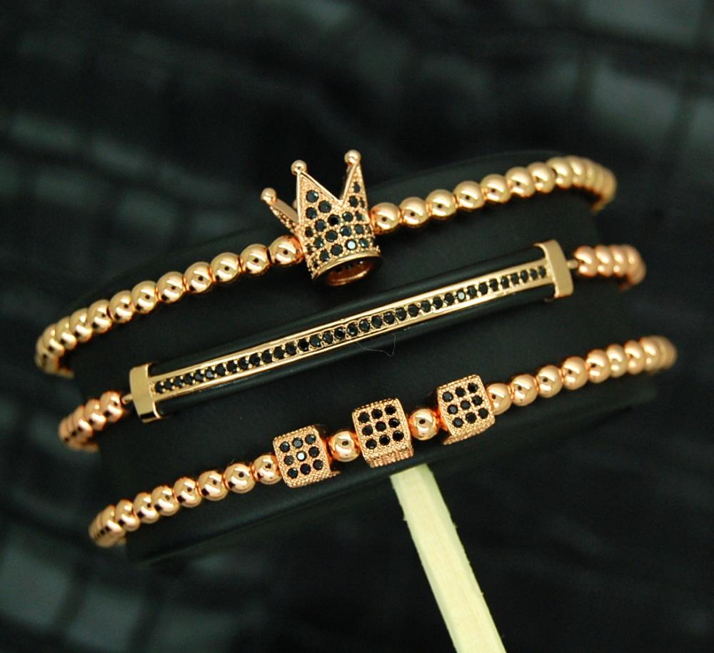 Luxury Set 3 Rose Gold 14K Imperator