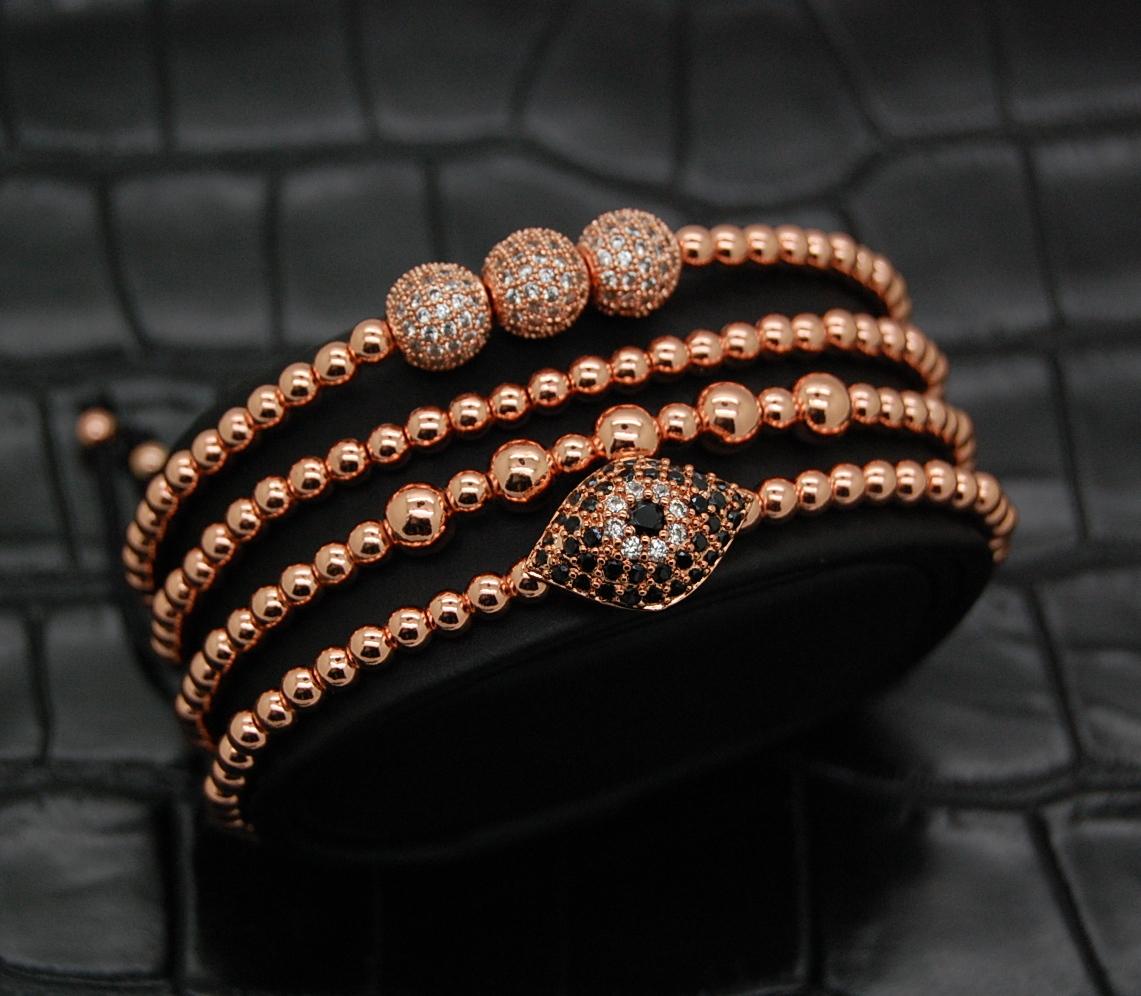 Luxury Set Rose Gold Plated 14K Ducesse