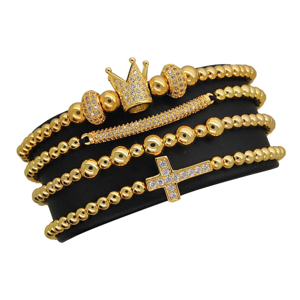 Luxury Set 4 Brooks Crown Womanize