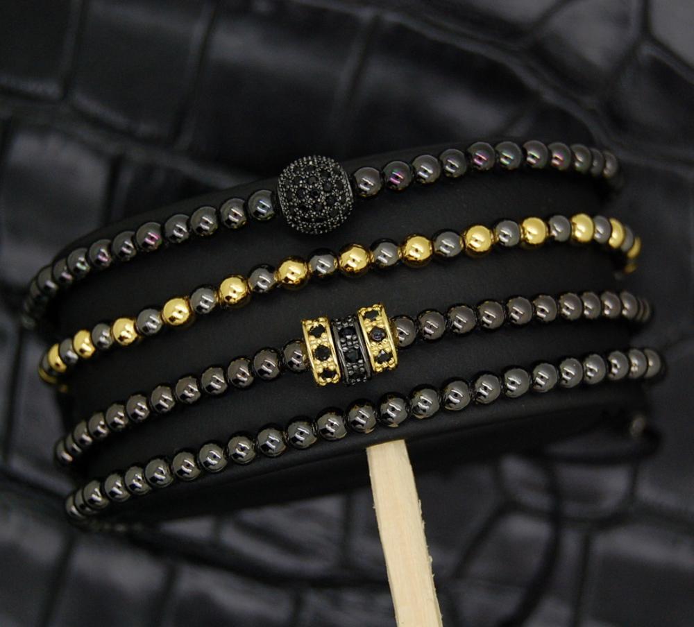 Luxury Set Brooks Gold&Black Simphony