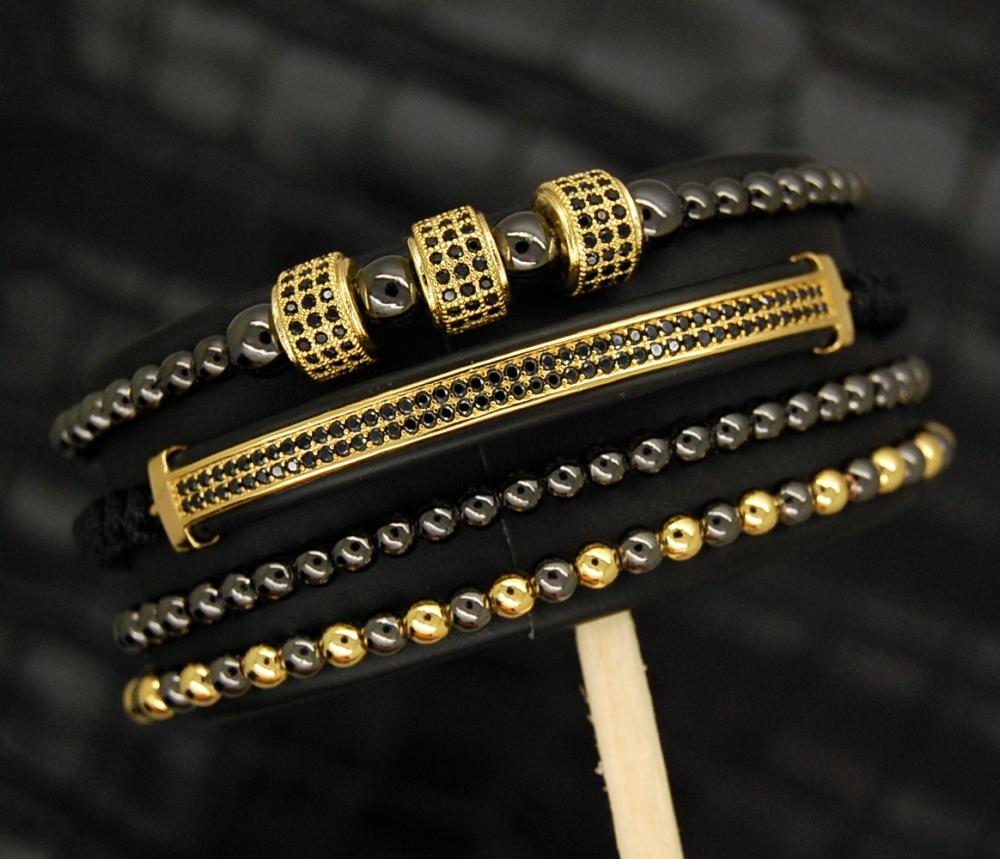 Luxury Set Brooks Gold&Black Elements