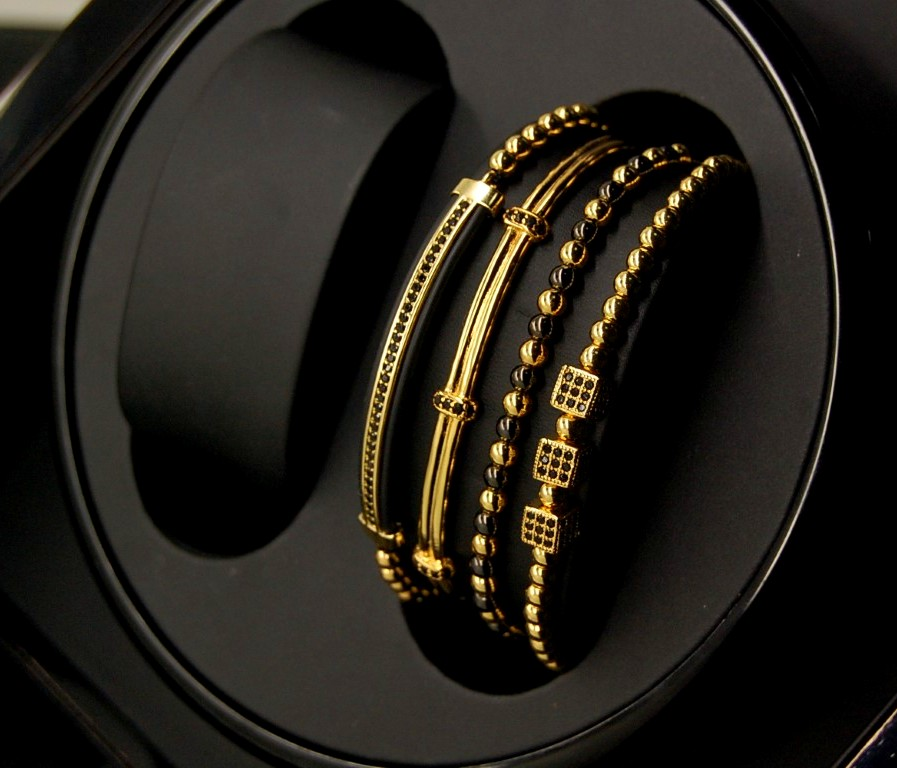 Gentleman Gold Brooks Bracelets