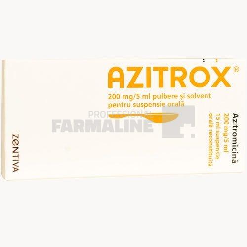 Azitrox, 500 mg, 3 comprimate, Zentiva