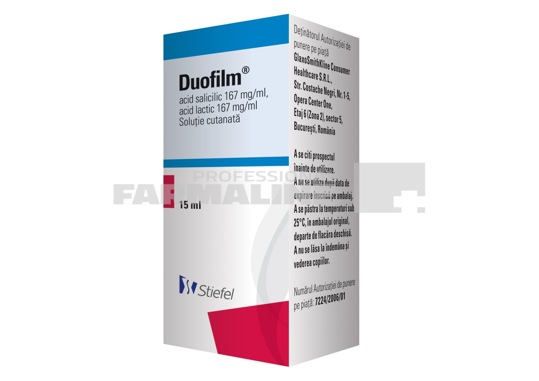 Prospect Medicament - Duofilm, solutie cutanata
