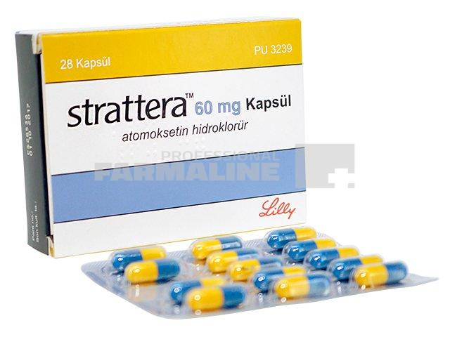 Strattera 40 mg, 28 capsule, Eli Lilly