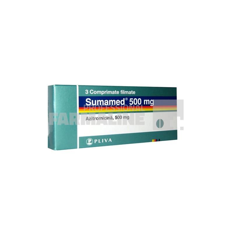 Azitrox, mg, 3 comprimate, Zentiva : Farmacia Tei