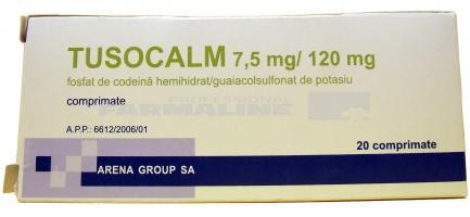 calmotusin tablete)