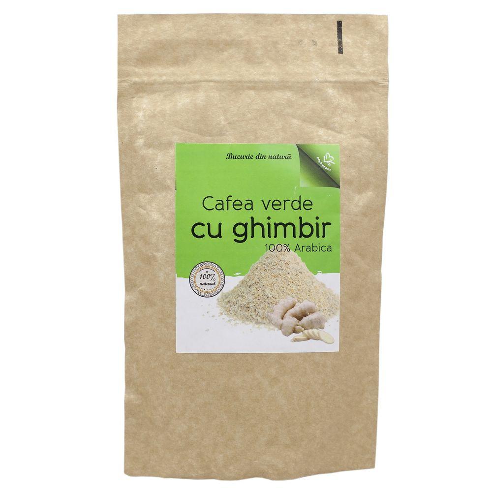 CAFEA VERDE ORGANICA BIO CU GHIMBIR RUBIO 40 gr Vedda