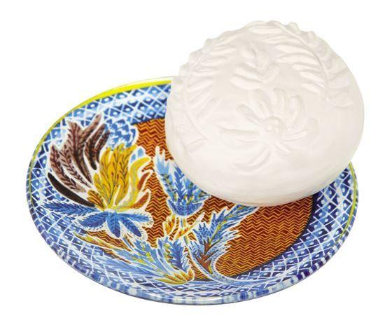 Rose Lavande Set sapun-savoniera 150g