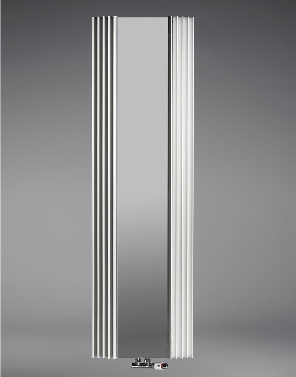 Calorifer cu oglinda Jaga Iguana Visio 2200x625 mm, 1092 W