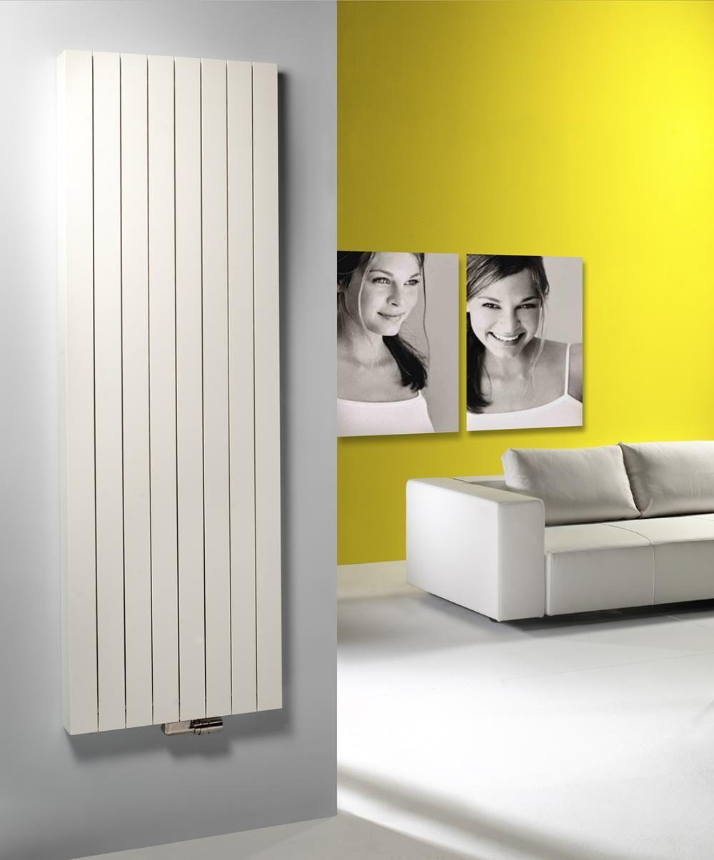 Calorifere verticale aluminiu Vasco Zaros V100 2200x375 mm, 1757 W