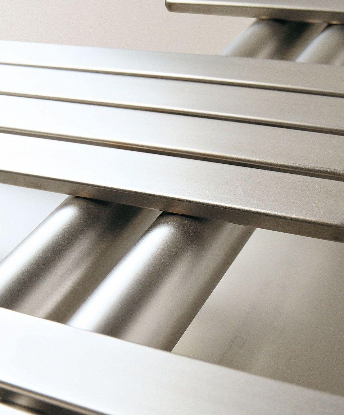 Calorifer baie Babyla Satin Stainless Steel 1080x600 mm, 233 W