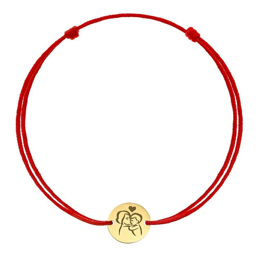Bratara Banut Gravat din Aur