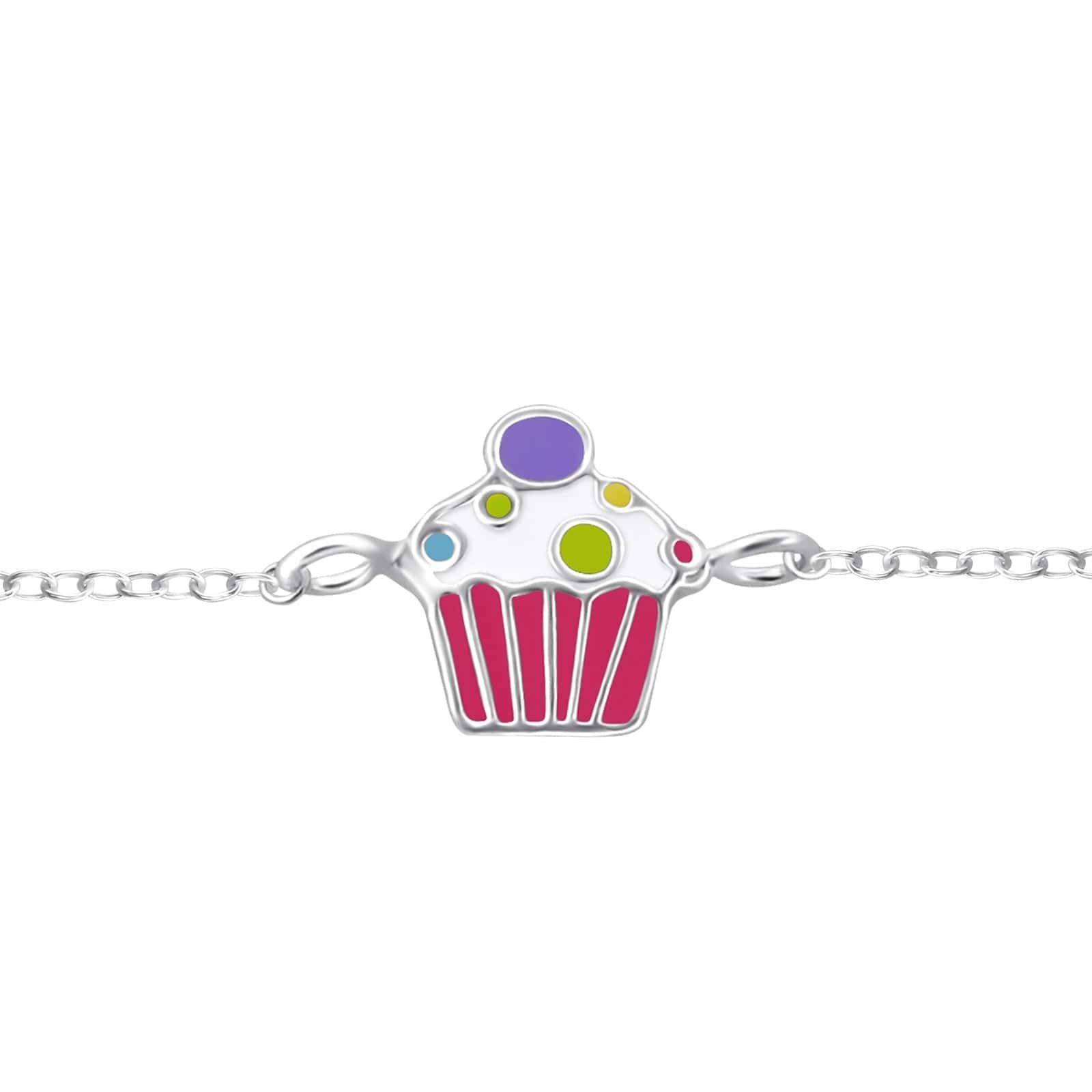 Bratara Cupcake din Argint 925
