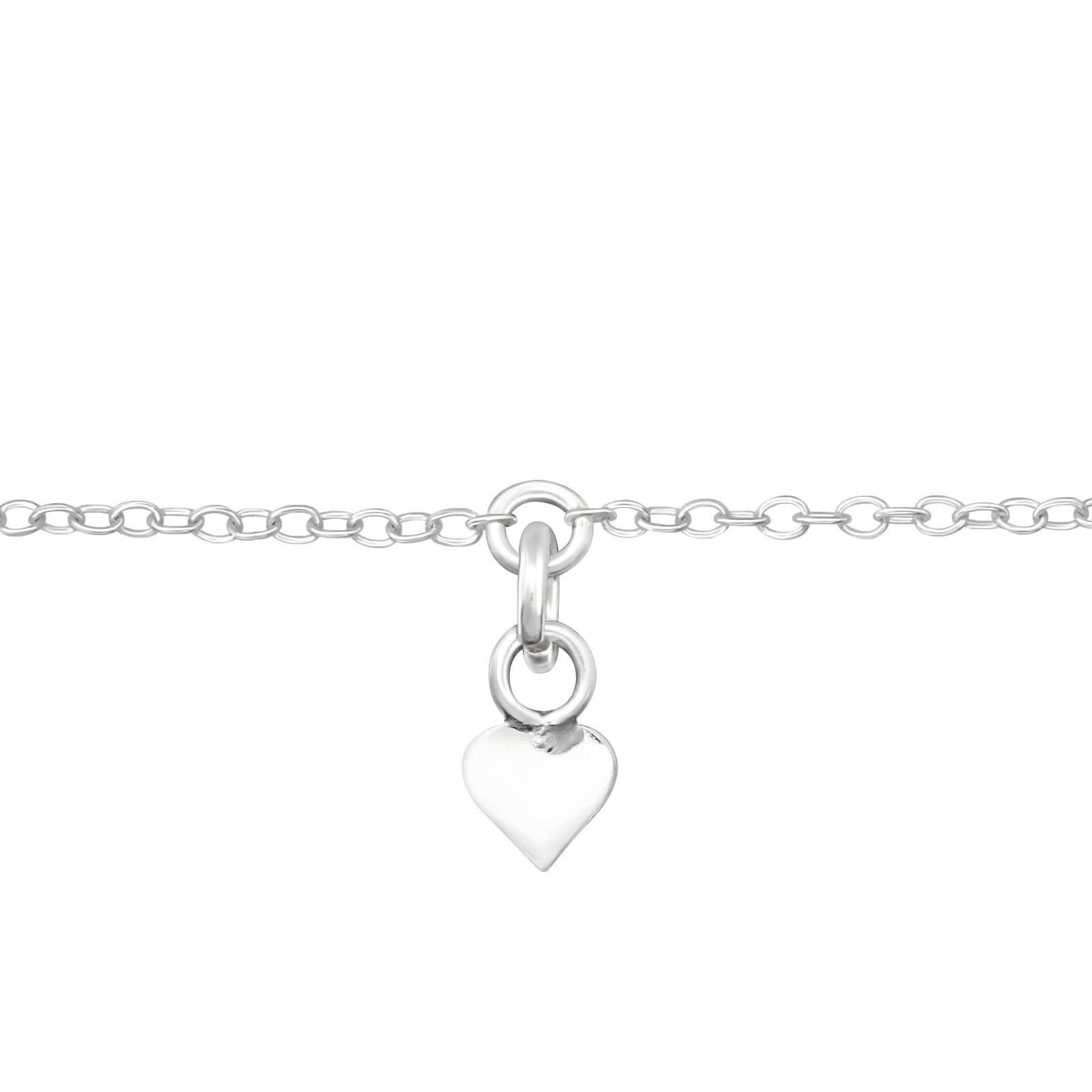 Bratara Inima Mica din Argint 925
