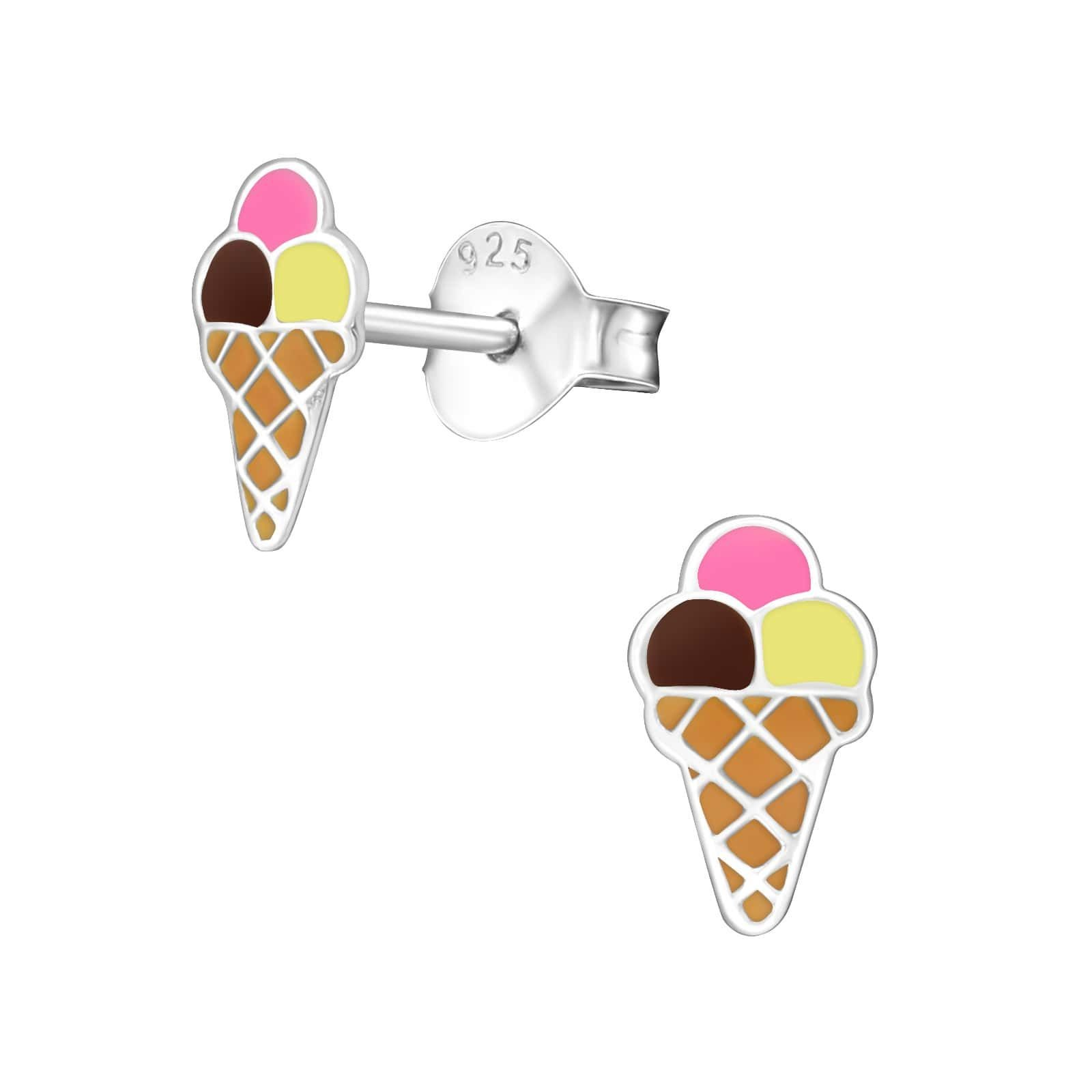 Cercei Ice Cream din Argint 925