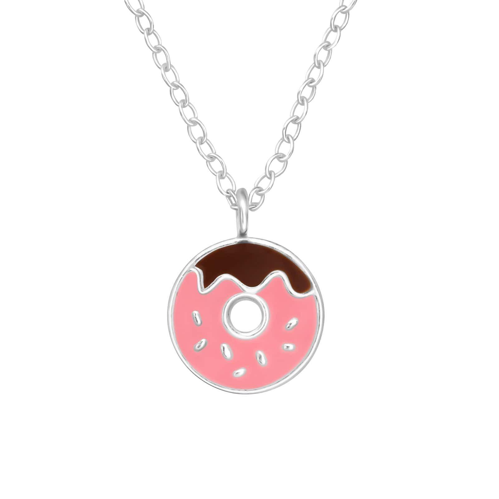 Colier Donut din Argint 925