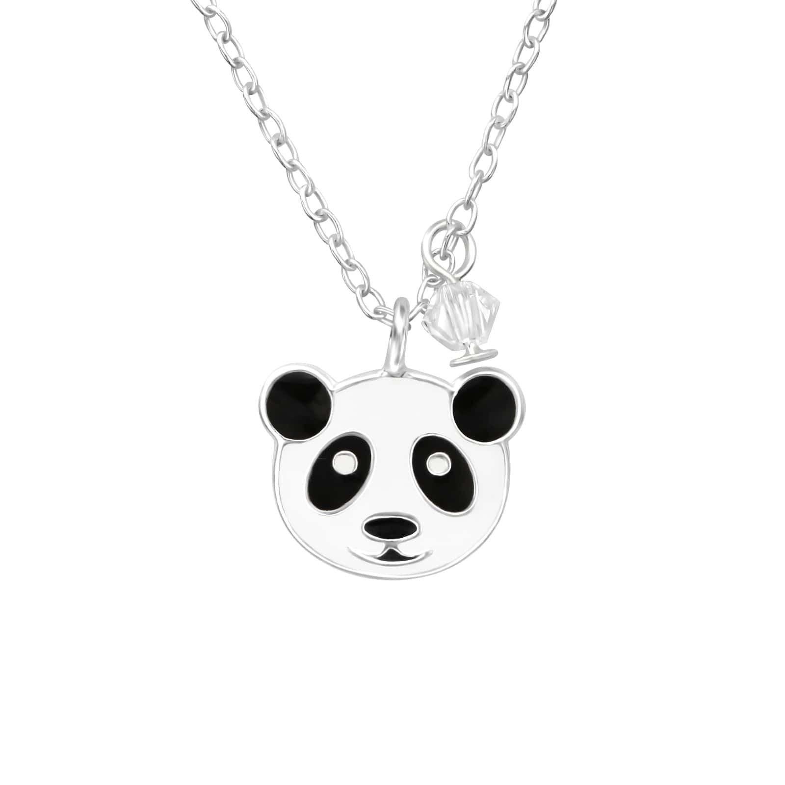Colier Panda din Argint 925