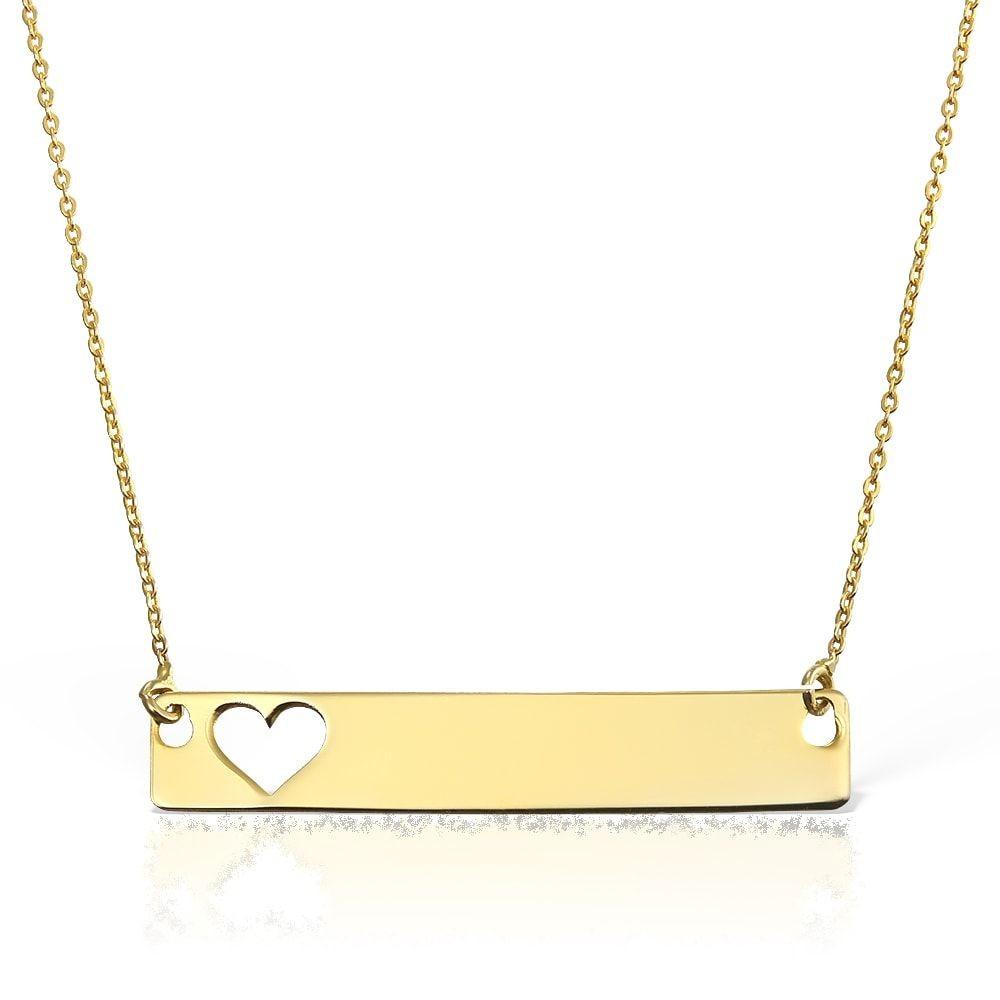Colier Placuta Love din Aur
