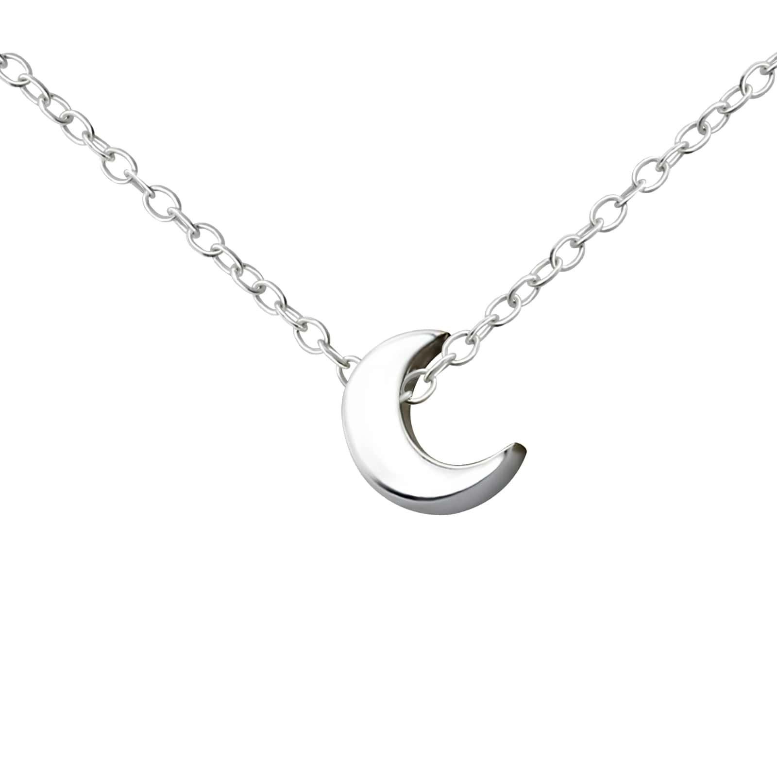 Colier Semiluna din Argint 925