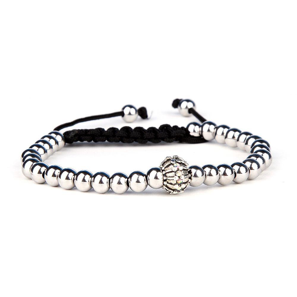 Silver Cubic Zircon Bracelet