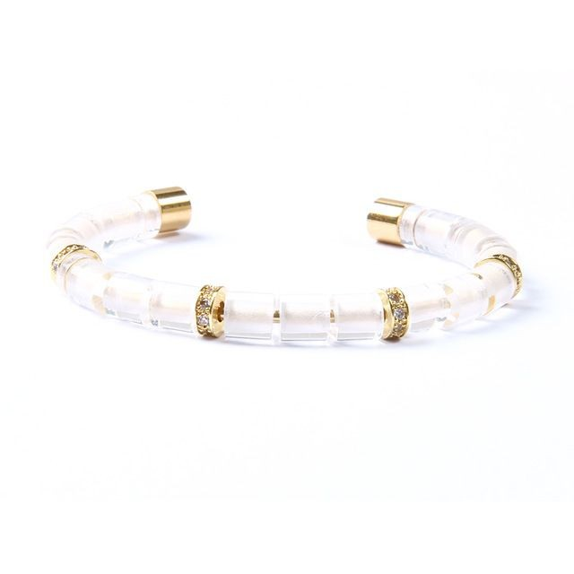 Brooks Zircon White Bangle