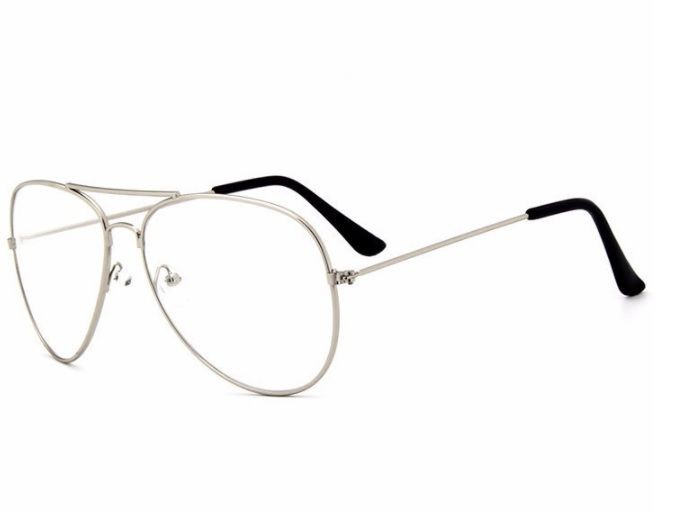 BROOKS AVIATOR WHITE LENS WOMAN RAMA SILVER