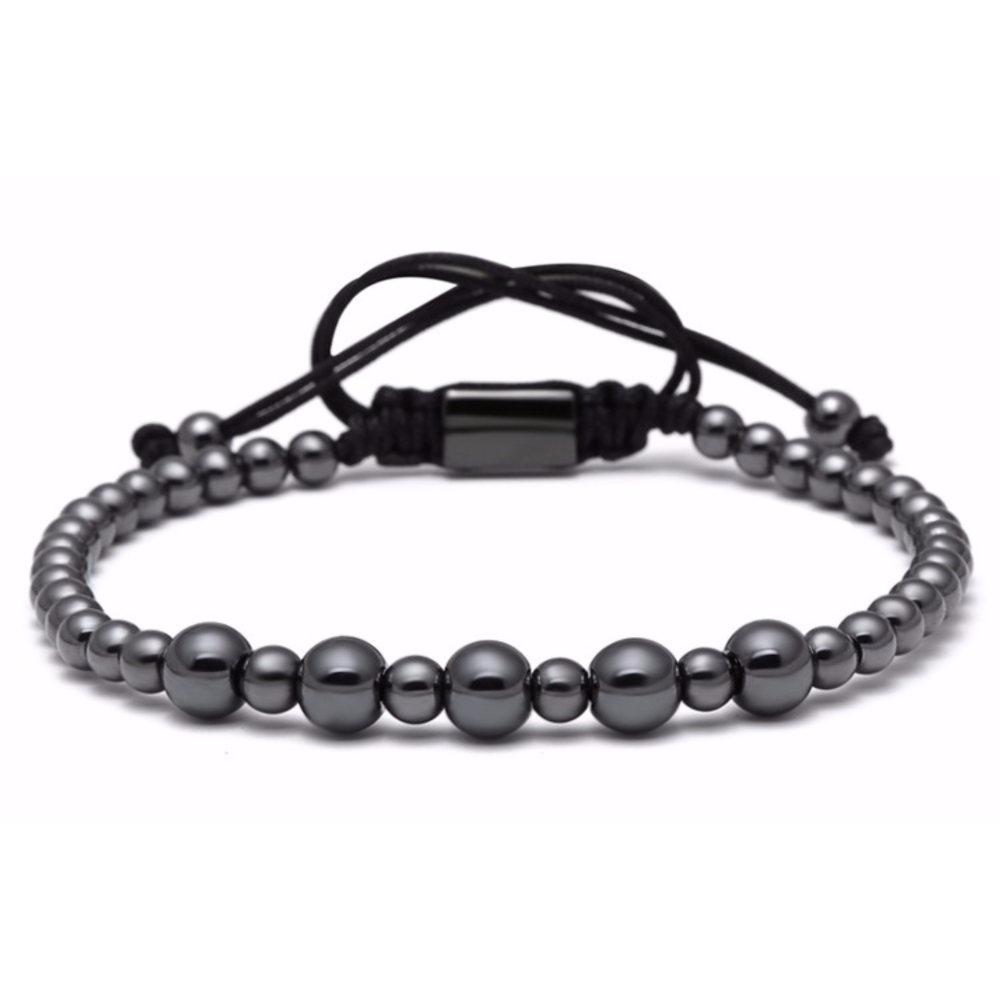 Brooks All Black Men Bracelet