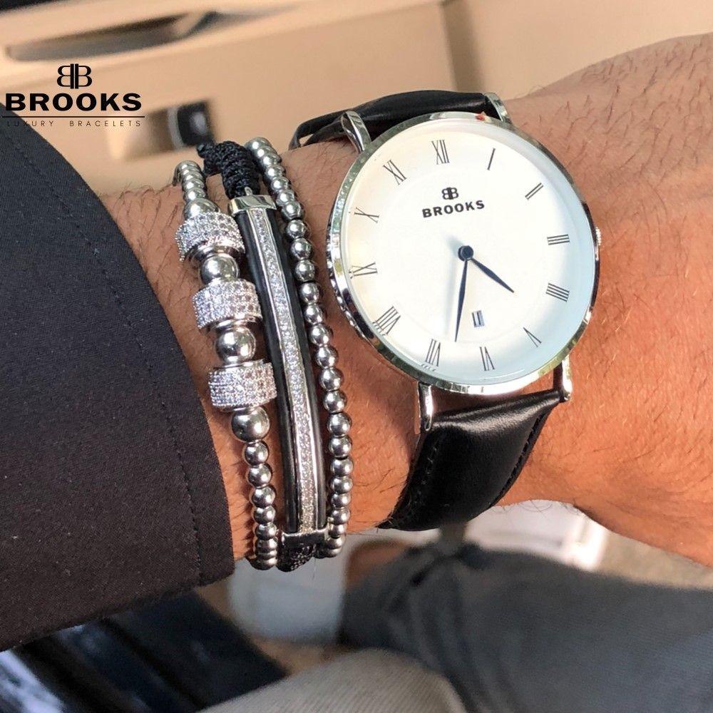 Brooks Luxury Set Men Classy Bracelets