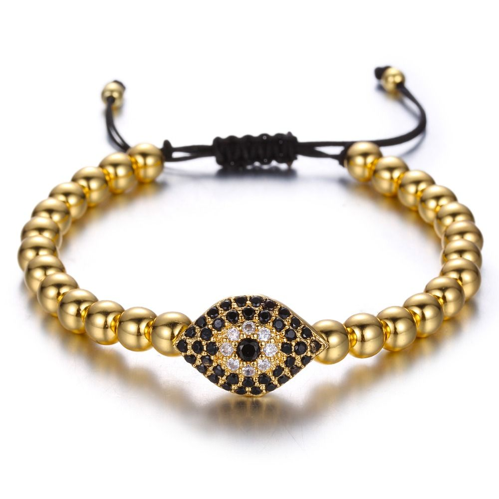 Brooks Woman Eye Bracelet GOLD