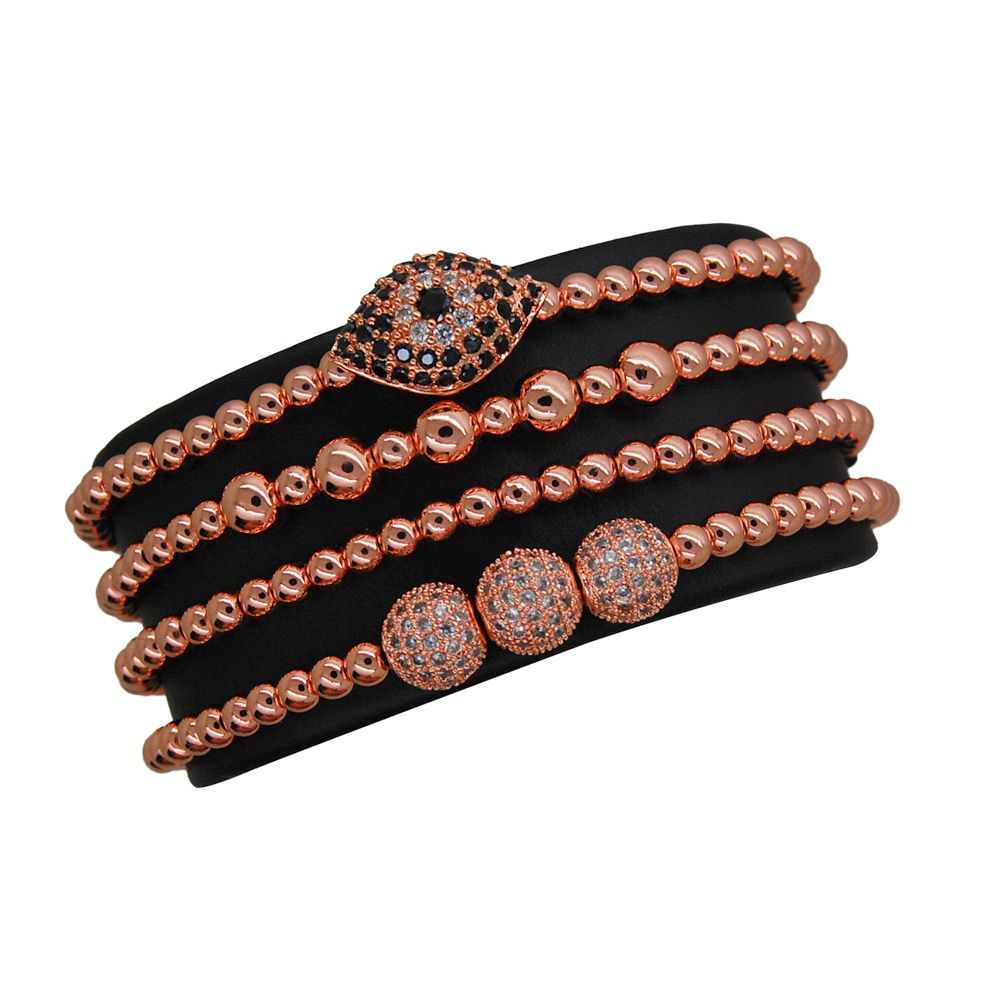 Luxury Set Rose Gold Plated 14K Ducesse