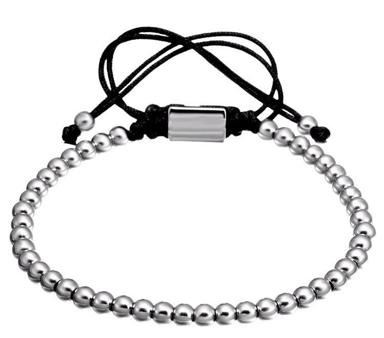 Brooks Men Classic Bracelet SILVER