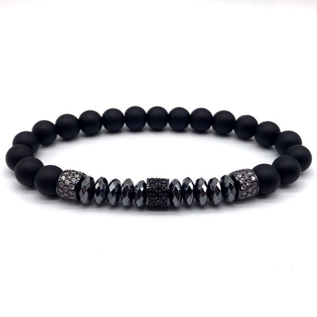 Brooks All Black Stone Agate
