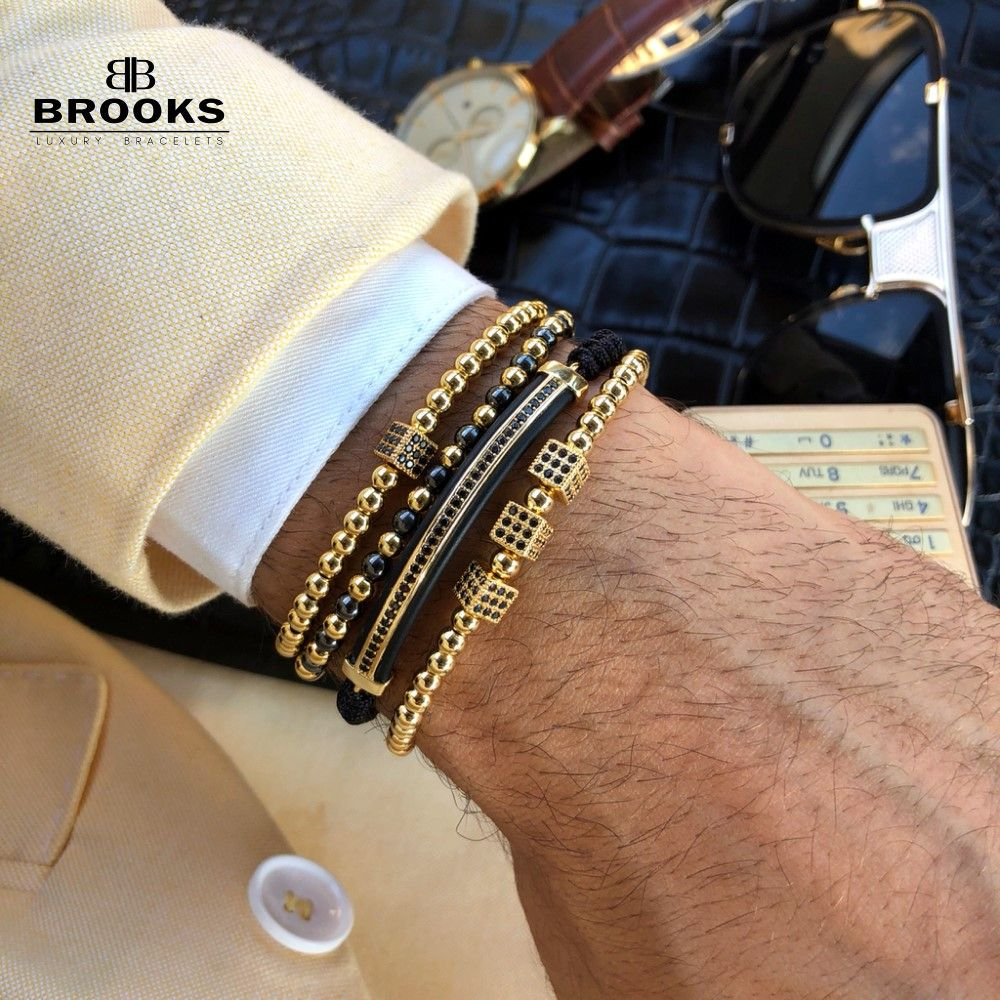 Luxury Set 4 Brooks Goldenize