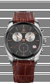 Ceas barbatesc Lux cu carcasa din otel inoxidabil 40mm, curea din piele, mecanism ETA G10.791, rezistent la apa 5 ATM