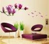 Sticker perete Magnolia Purple Flower
