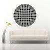 Sticker perete Optical Illusion Round