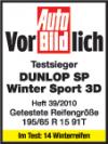 Anvelope Iarna 235/50R19 99H Dunlop SP Winter Sport 3D MO