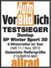 Anvelope Iarna 245/45R19 102V Dunlop SP Winter Sport 3D XL