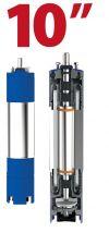 Motor submersibil de 10`` 400V  129 kw