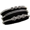 Brooks Silver Set 3 Luxury Bracelets