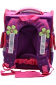 Ghiozdan scoala BROTHERS , rucsac pentru copii , ergonomic, cu pereti rigizi, Fluture roz  Z-7-5