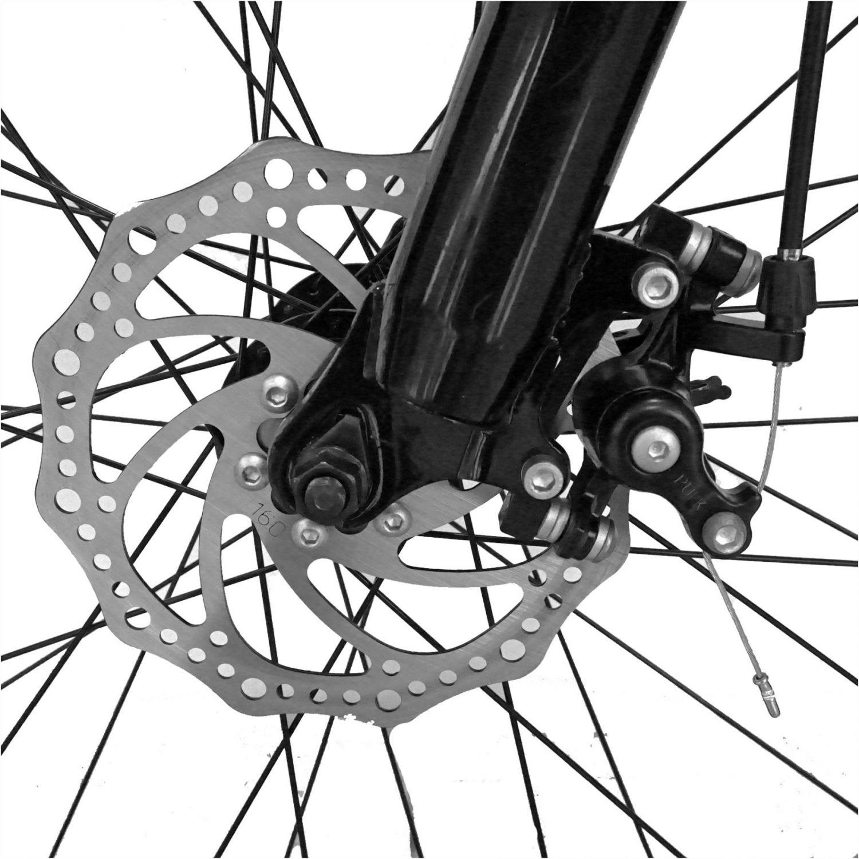Bicicleta Fat Bike VELORS, V2619B, cadru otel, culoare albastru / verde