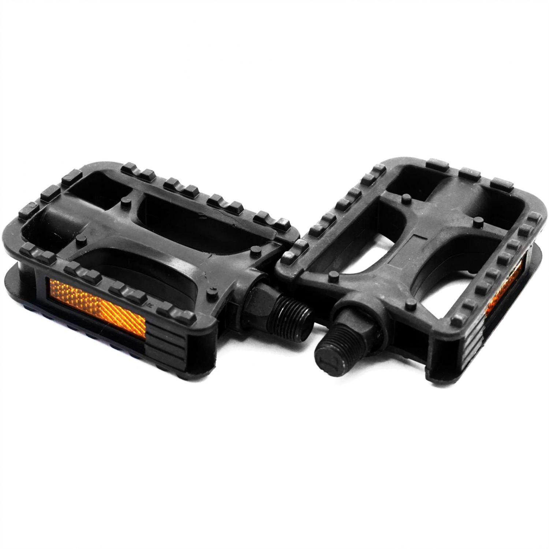 Pedale plastic negre 480002