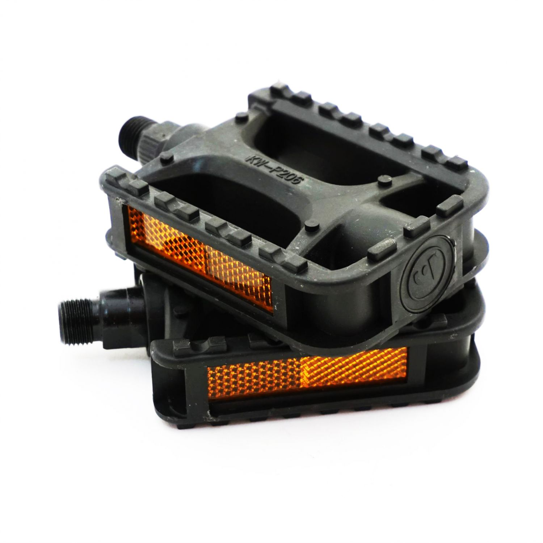 Pedale plastic negre 480021