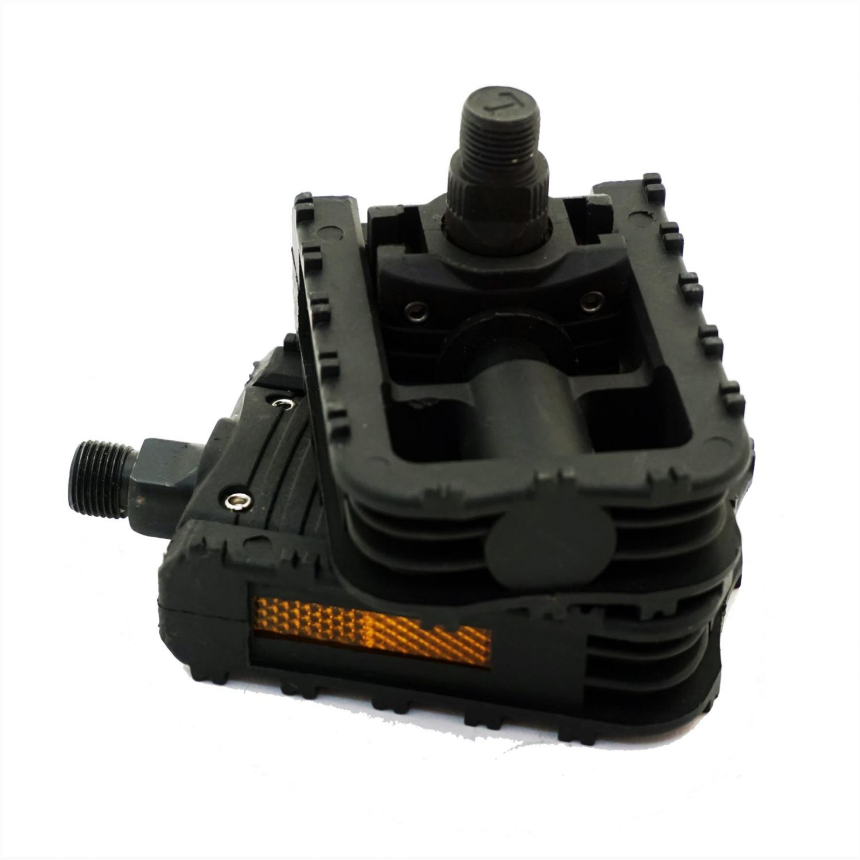 Pedale pliabile plastic negre 480012