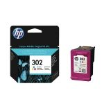 Cartus HP 302 F6U65AE Color