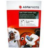 Hartie Agfa transfer termic pentru tricouri albe A4 140g/10 coli
