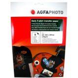 Hartie Agfa transfer termic pentru tricouri negre A4 175g/5 coli